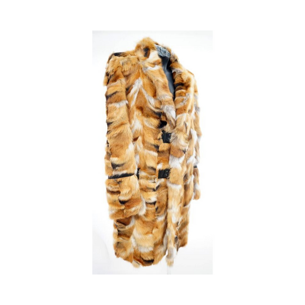 ROBERTO CAVALLI FOX FUR COAT for MEN