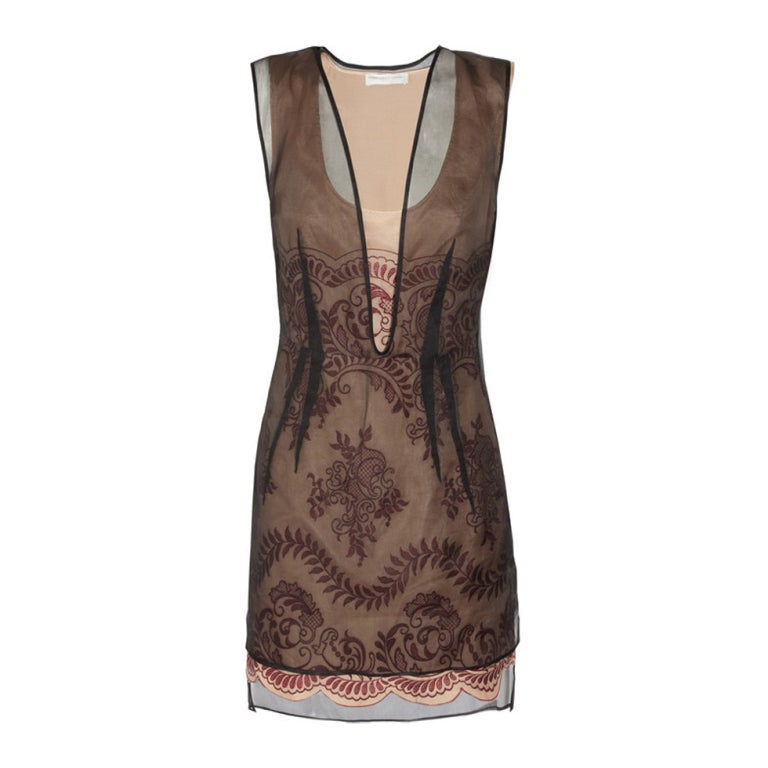 STELLA MCCARTNEY embroidered organza dress **LIV wore too