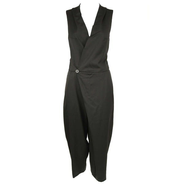 Chloe Black Wrap Jumpsuit