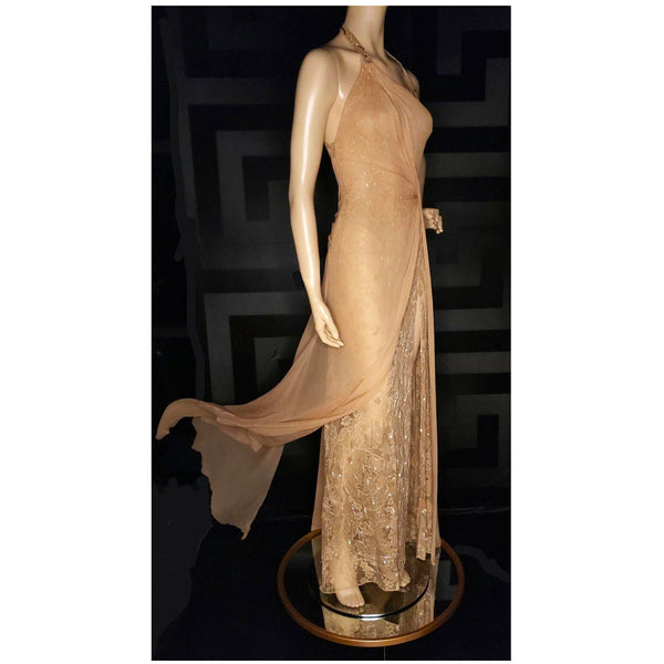Vintage Versace Atelier Embellished Gown
