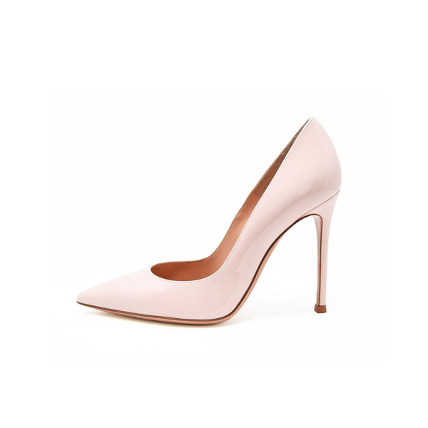 Gianvito Rossi Pink Patent Leather Pump