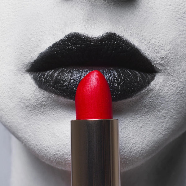 Red Lipstick by Tyler Shields, Digital Print, 2019