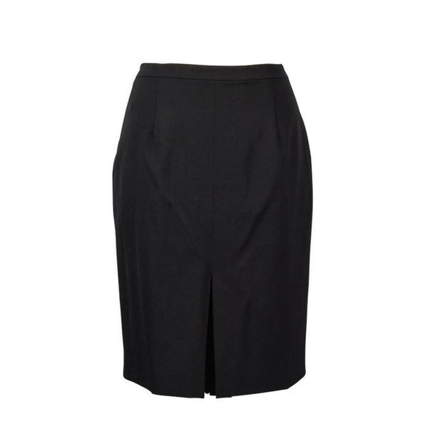 Christian Dior Skirt Black Inverted and Box Pleats fits 8