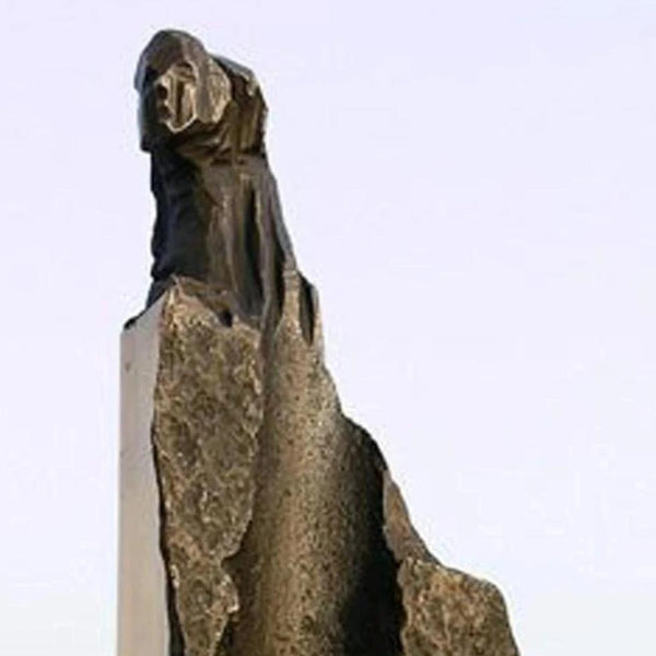 A Wife by Won Lee, Sculpture, Bronze,