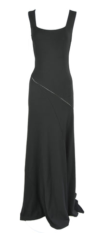 Azzedine Alaia Black Sleeveless Gown