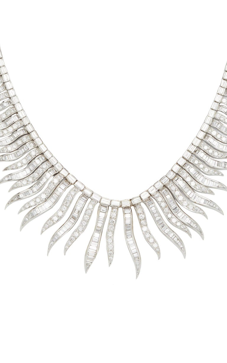 Articulated Diamond Necklace
