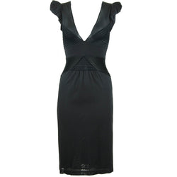 Christian Lacroix Black Knit Dress