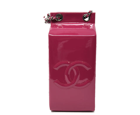 Chanel Patent Leather Milk Bottle Bag