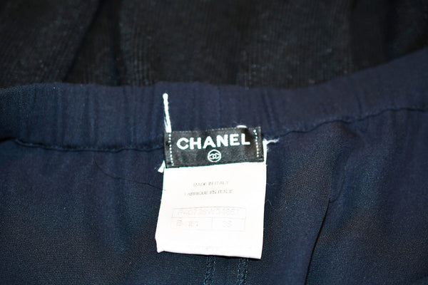 Chanel Strapless Sexy Romper in Navy and Black
