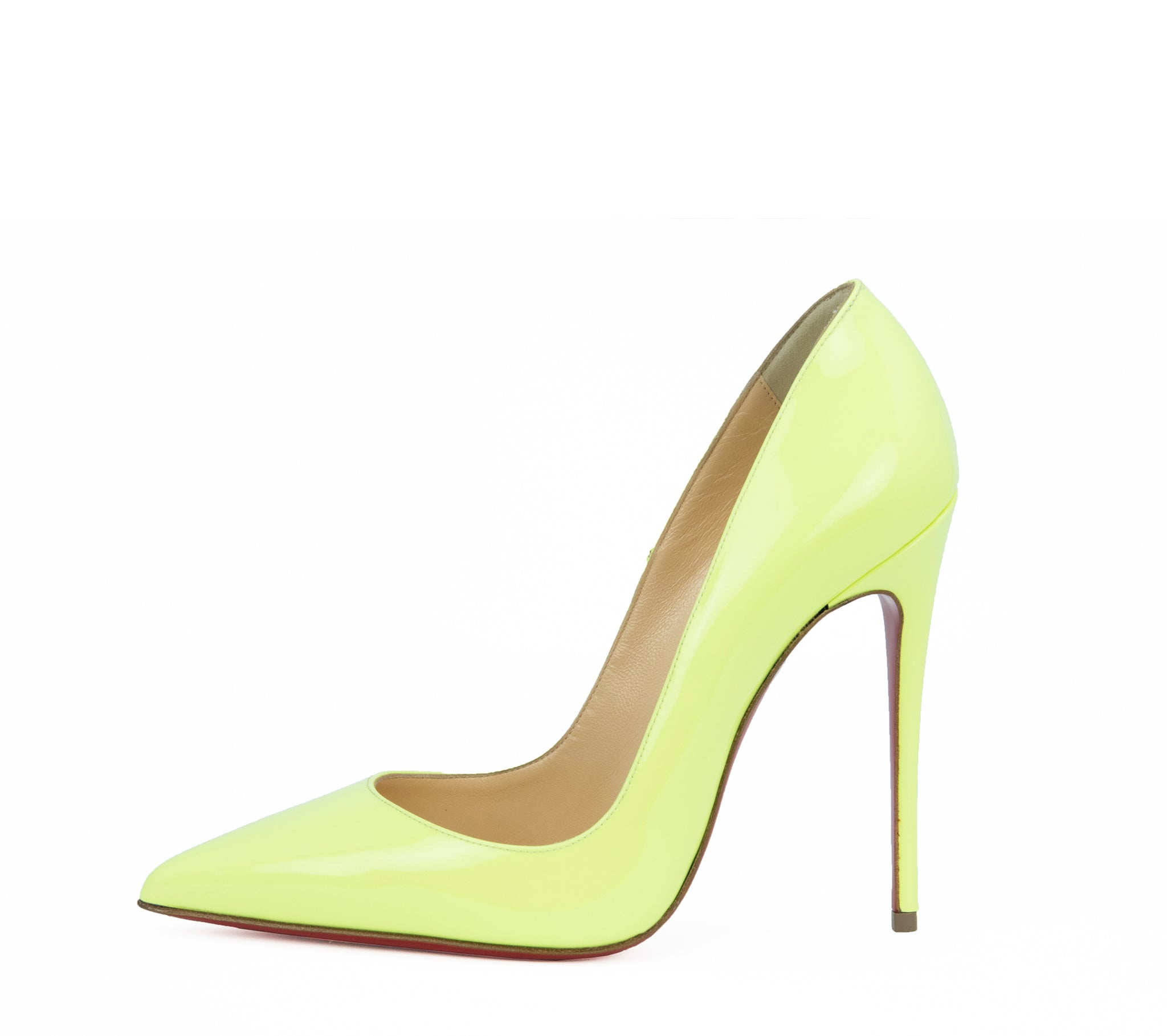 Christian Louboutin Neon Green So Kate