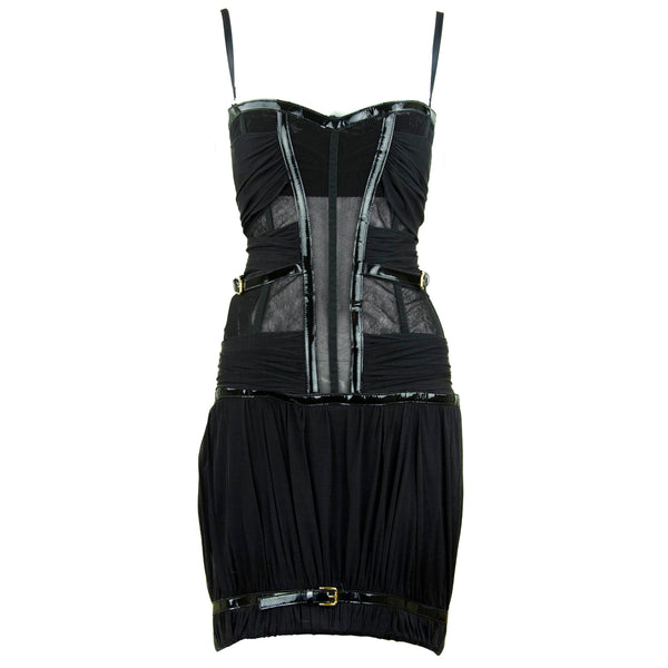 Dolce & Gabbana Corseted Mini Dress