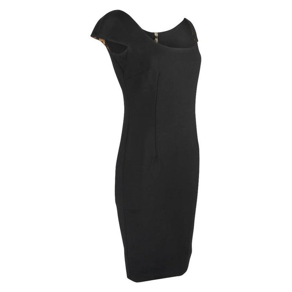 Dolce&Gabbana Dress Sheath Bold Rear Zipper Sleek 42 / 6 to 8