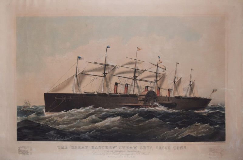 THOMAS GOLDSWORTH DUTTON (C. 1819-1891), AFTER, THE GREAT EASTERN STEAM SHIP 22,000 TONS