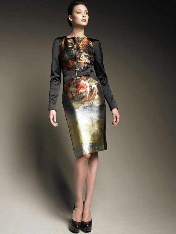 F/W 2010 Alexander McQueen 'HIERONYMUS BOSCH' Dress ANGELS & DEMONS Collection