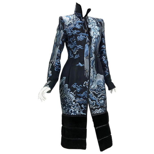 F/W 2004 Tom Ford for Yves Saint Laurent Chinoiserie Coat