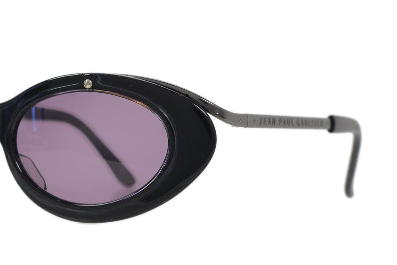 GAULTIER BLACK CAT EYE SUNGLASSES 1990s