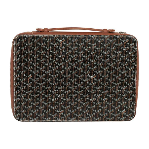 Goyard Universal Companion Portfolio / Briefcase Black / Brown New
