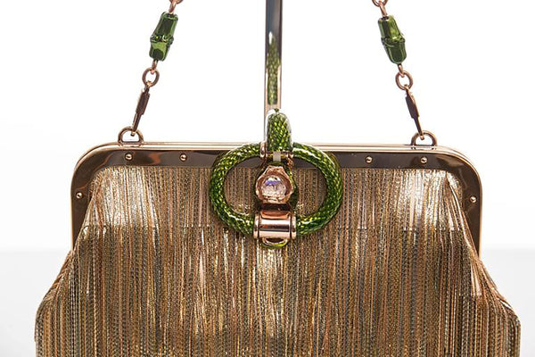Gucci Evening Bag by Tom Ford for Summer 2004, Jeweled Dragon Frame Clutch