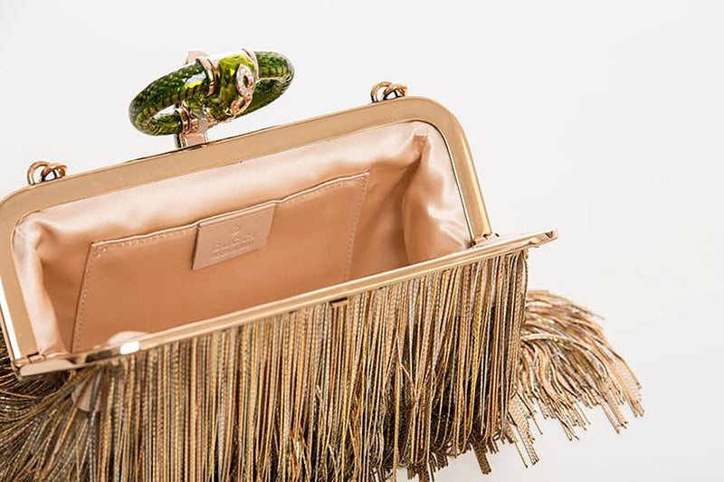 Tom Ford for Gucci Limited Edition Fringe Dragon Clutch