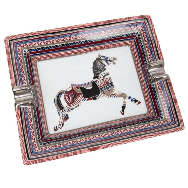 Hermes Change Tray Cheval D'Apparat Porcelain Rare Print