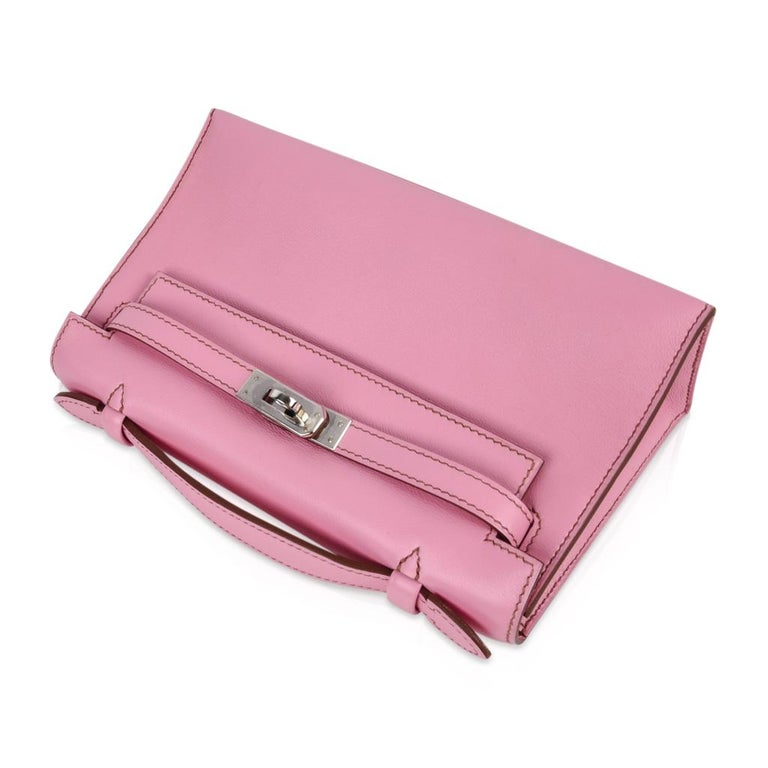 Hermes Kelly Pochette Coveted 5P Pink Holy Grail