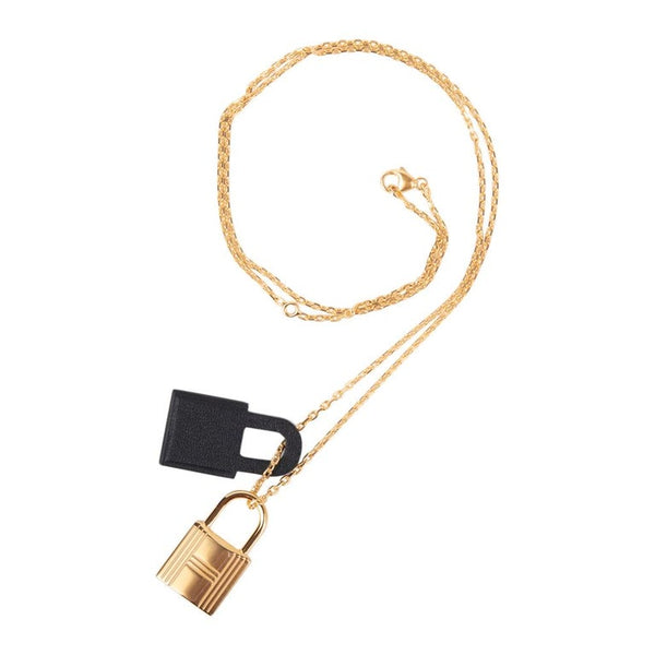 Hermes O'Kelly Pendant Necklace Small Model New w/ Box