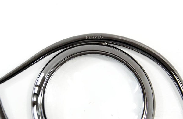 Hermes Ruthenium Magnifying Glass / Paperweight Eye of Cleopatra