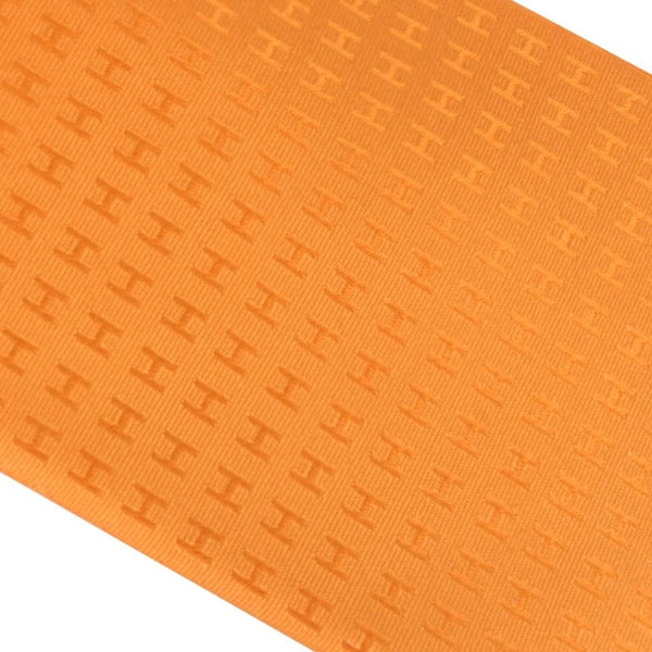 Hermes Tie Faconnee H Orange Vif New