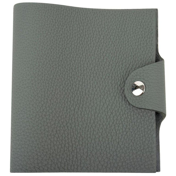 Hermes Ulysse Mini Notebook Cover Vert Amande with Unlined Notebook Refill