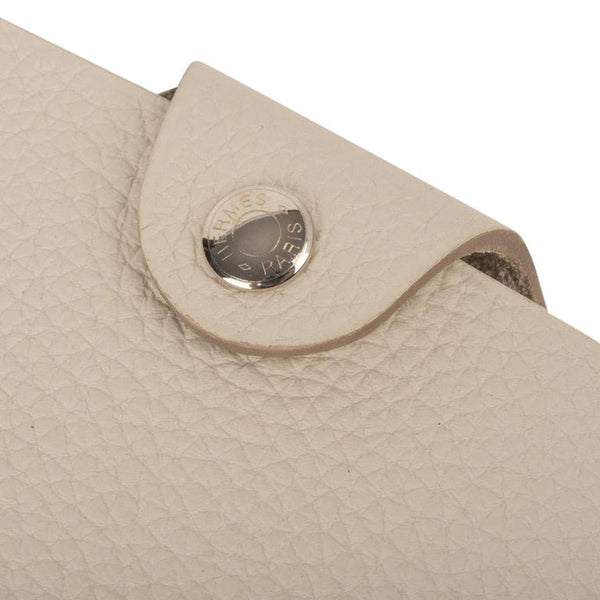 Hermes Ulysse Notebook Cover Craie Mini Model Ulysse Lined Notebook & Refill
