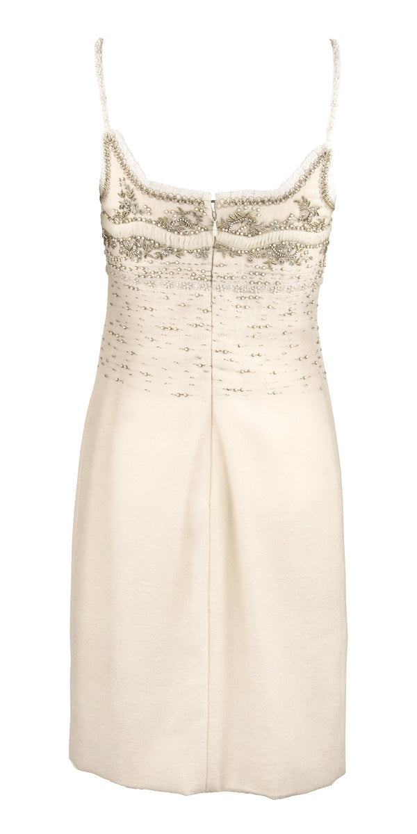 Oscar de la Renta Dress with Embroidery