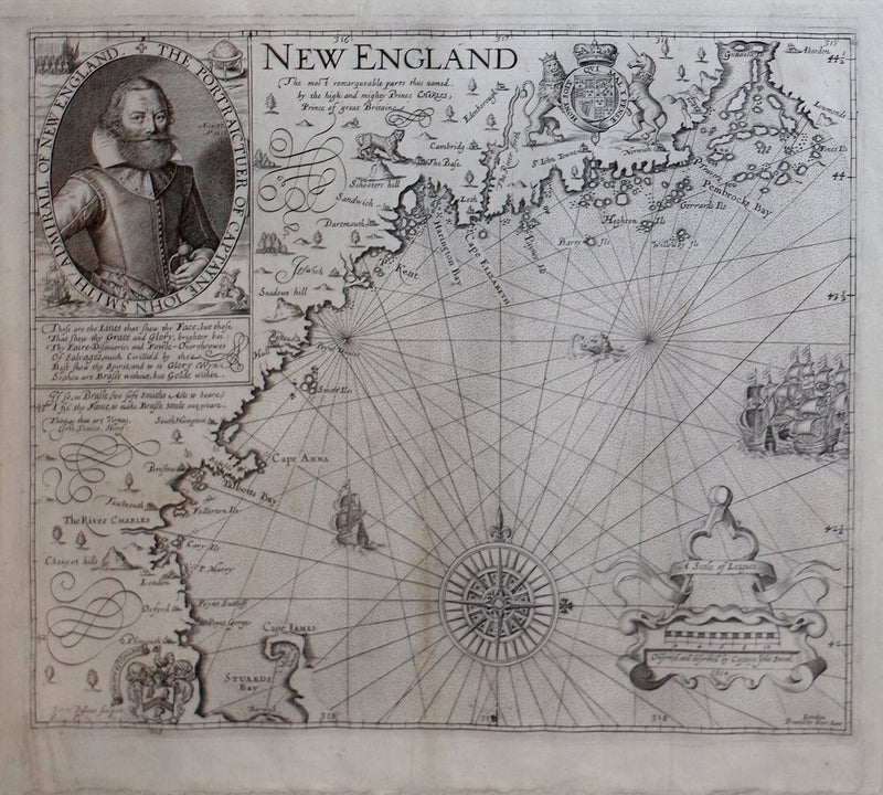 JOHN SMITH (1580-1631) - NEW ENGLAND