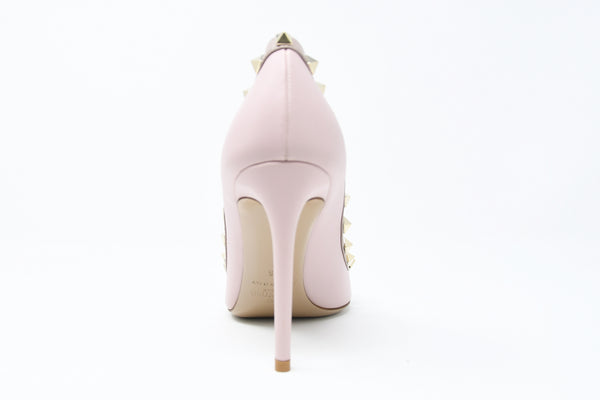 Valentino Rock Stud Light Pink Pumps