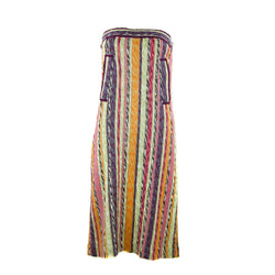 Missoni Striped Strapless Dress