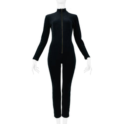 MOSCHINO BLACK ALL THIS & GLAMOUR TOO! JUMPSUIT