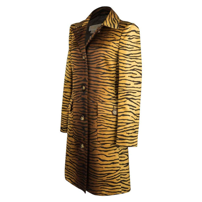 Michael Kors Coat Divine Timeless Animal Print 8