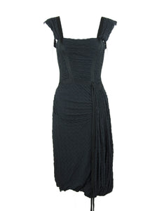 Black Missoni Knit Dress