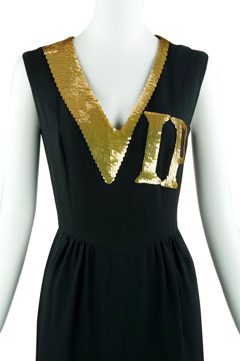 Vintage Moschino VIP Sequin Dress