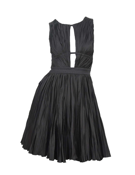 Roberto Cavalli Black Cocktail Dress