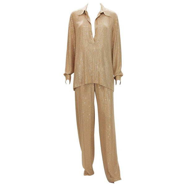New Gucci Crystal Embellished Lounge Suit