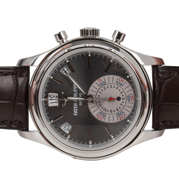 Patek Philippe 5960P-001 Annual Calendar Chronograph Platinum Watch