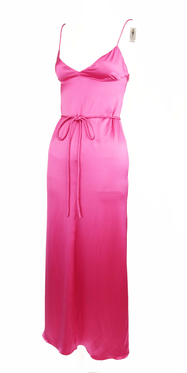Vintage Valentino Pink Charmeuse Gown
