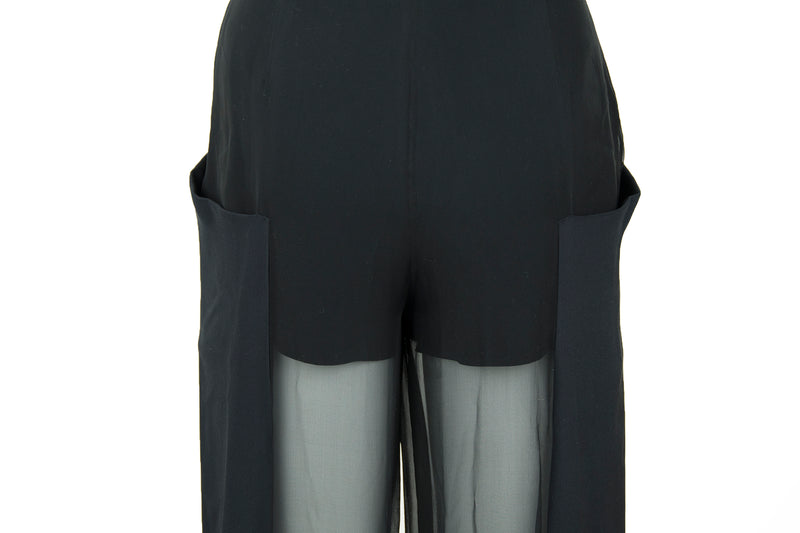 Pucci Black Sheer Pants