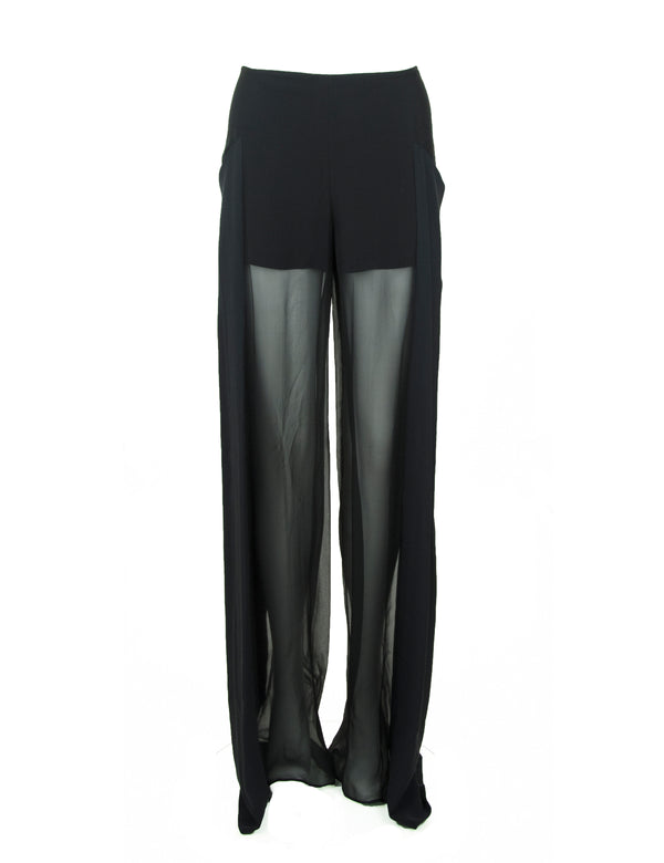 Black Pucci Sheer Pants