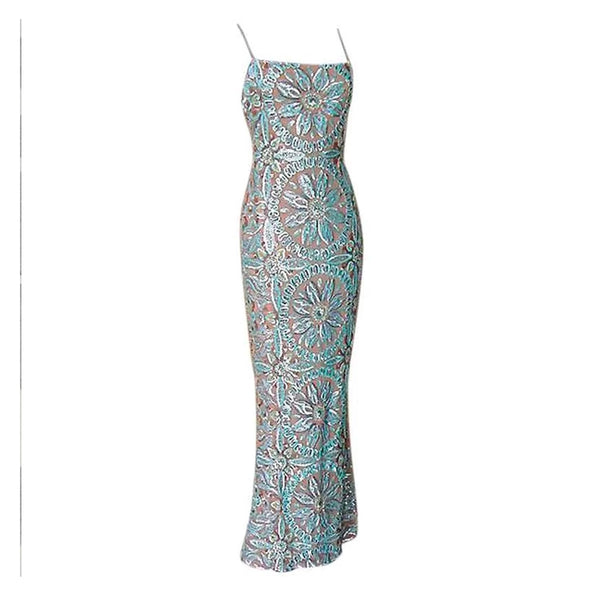 RANDOLPH DUKE Gown Exquisite Sequins Colours