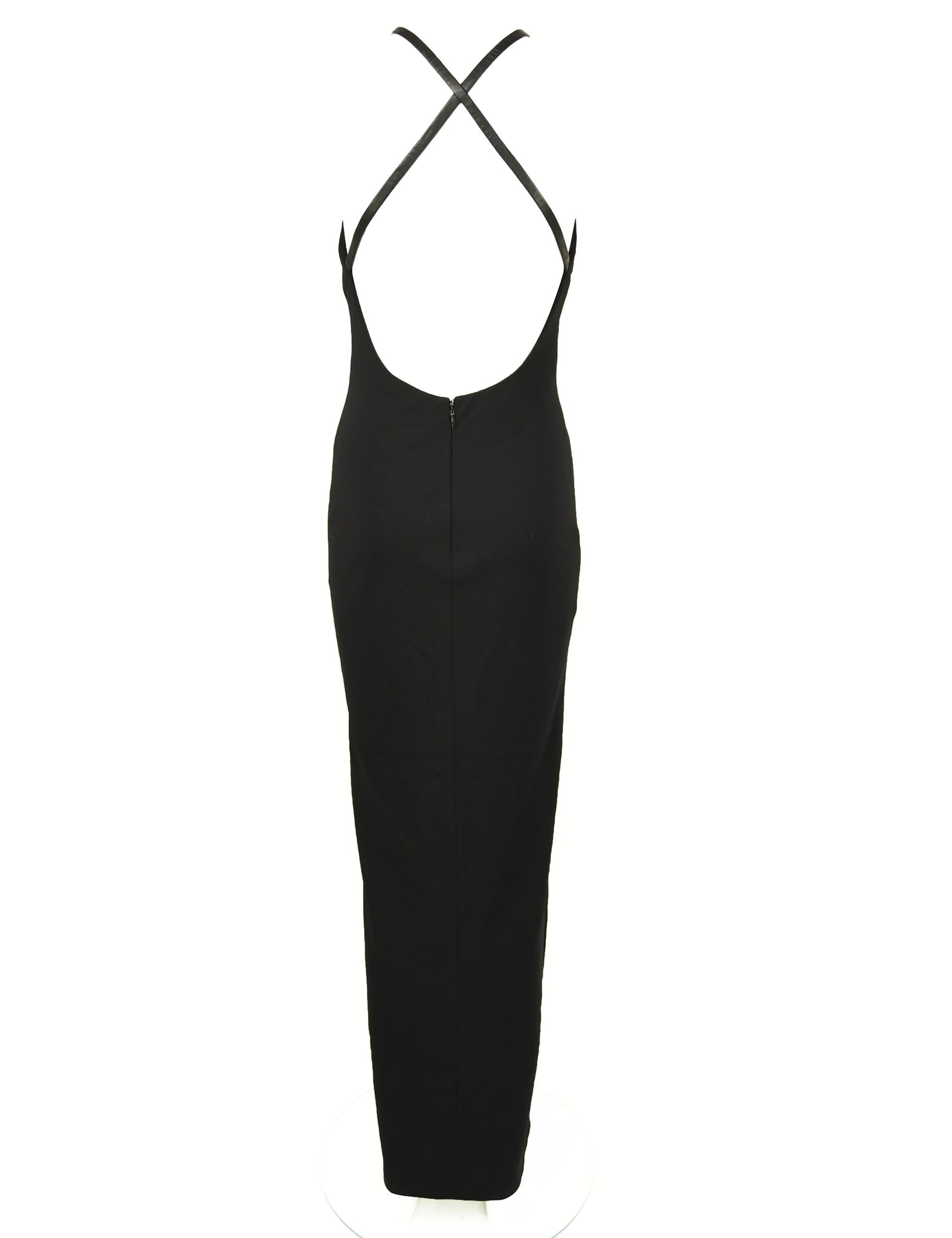 Ralph Lauren Classics Collection Black Column Gown