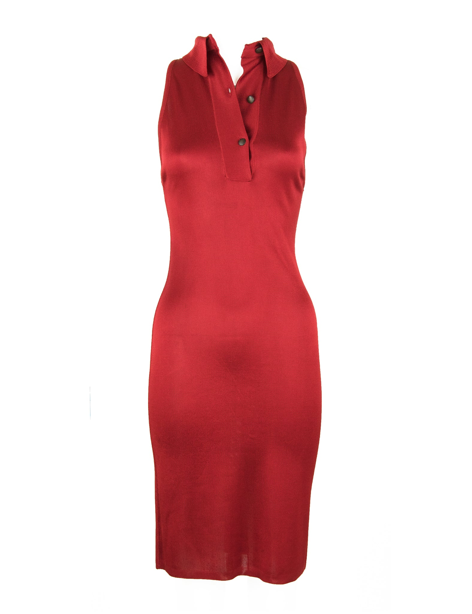 Vintage Alaia Red Dress