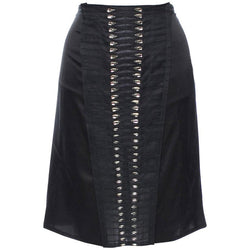 S/S 2004 TOM FORD for GUCCI CRYSTAL EMBELLISHED SKIRT
