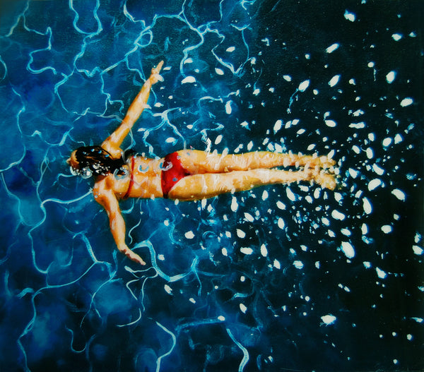 Shallow Waters Ahead VI by Eric Zener, 2011