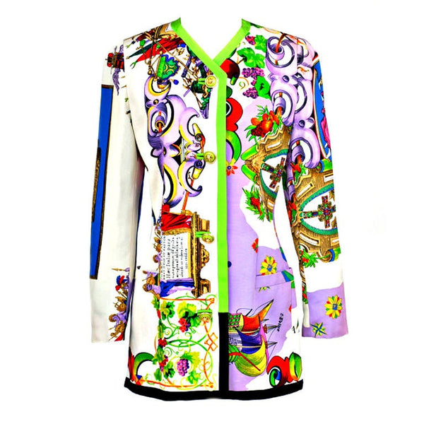 1990-s Rare Gianni Versace Couture Coat